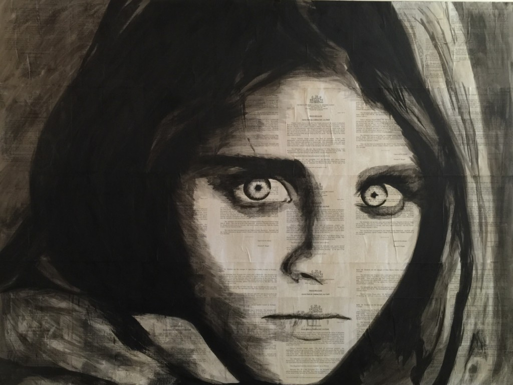 Exhibit 7: The Afghan Girl
